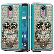 preiswerte Handyhüllen-Hülle Für LG K10 2018 / G7 Stoßresistent / Strass / Muster Rückseite Eule / Strass Hart PC für LG Stylo 4 / LG G7 ThinQ / LG G6