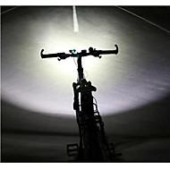お買い得  フラッシュライト/ランタン/ライト-LS070 ヘッドランプ / 自転車用ライト / 自転車用ヘッドライト 5000/2500 lm チャージャー付き 防水 / 耐衝撃性 / 充電式 キャンプ / ハイキング / ケイビング / 日常使用 / 警察 / 軍隊 ブラック