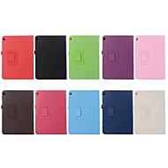 お買い得  携帯電話ケース-ケース 用途 Huawei MediaPad M3 Lite 10 スタンド付き / フリップ / 折りたたみ式 フルボディーケース ソリッド ハード PUレザー のために Huawei MediaPad M3 Lite 10