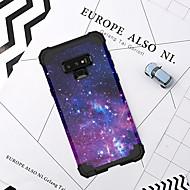 Недорогие Чехлы и кейсы для Galaxy Note-случай bentoben для примечания галактики samsung 9 ударопрочных случаев тела тела / декорации / цветок твердого силикона / ПК для примечания 9