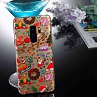 Недорогие Чехлы и кейсы для Galaxy S8 Plus-Кейс для Назначение SSamsung Galaxy S9 Plus / S8 Прозрачный / С узором Кейс на заднюю панель Рождество Мягкий ТПУ для S9 / S9 Plus / S8 Plus