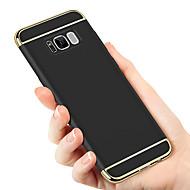 Недорогие Чехлы и кейсы для Galaxy S9 Plus-Кейс для Назначение SSamsung Galaxy S9 / S8 Покрытие Кейс на заднюю панель Однотонный Твердый ПК для S9 / S9 Plus / S8 Plus