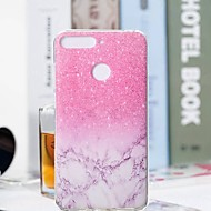 abordables Fundas / carcasas para Huawei Honor-Funda Para Huawei Honor 7A / Honor 7C(Enjoy 8) Transparente / Diseños Funda Trasera Mármol Suave TPU para Huawei Honor 10 / Honor 9 / Huawei Honor 9 Lite