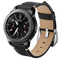 Недорогие Аксессуары для смарт-часов-Ремешок для часов для Gear S3 Classic Samsung Galaxy Современная застежка Натуральная кожа Повязка на запястье