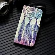 Недорогие Чехлы и кейсы для Galaxy Note-Кейс для Назначение SSamsung Galaxy Note 9 / Note 8 Кошелек / Бумажник для карт / со стендом Чехол Ловец снов Твердый Кожа PU для Note 9 / Note 8