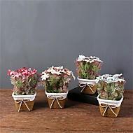 cheap -Artificial Flowers 1 Branch Classic / Single Simple Style / Modern Chrysanthemum / Vase Tabletop Flower