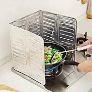 abordables Herramientas especiales-Cocina Limpiando suministros Papel de Aluminio Calcomanías a Prueba de Aceite Cocina creativa Gadget 1pc