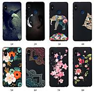 preiswerte Handyhüllen-Hülle Für Xiaomi Redmi Note 5A / Redmi Note 5 Pro Muster Rückseite Tier / Blume Weich TPU für Redmi Note 5A / Xiaomi Redmi Note 5 Pro / Xiaomi Redmi 6 Pro