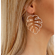 cheap -Women's Hollow Out Drop Earrings Earrings Coconut Tree Ladies Stylish Simple Jewelry Gold / Silver For Daily 1 Pair