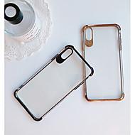 Недорогие Кейсы для iPhone 8 Plus-Кейс для Назначение Apple iPhone XR / iPhone XS Max Защита от удара / Покрытие / Ультратонкий Кейс на заднюю панель Однотонный Мягкий ТПУ для iPhone XS / iPhone XR / iPhone XS Max