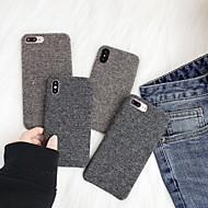 Etui Til Apple iPhone XR / iPhone XS Max Syrematteret Bagcover Ensfarvet Blødt TPU for iPhone XS / iPhone XR / iPhone XS Max