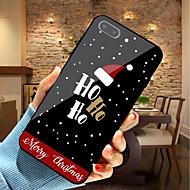 Недорогие Модные популярные товары-Кейс для Назначение Apple iPhone XR / iPhone XS Max С узором Кейс на заднюю панель Рождество Мягкий ТПУ для iPhone XS / iPhone XR / iPhone XS Max