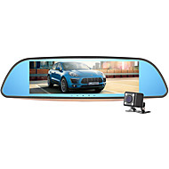Недорогие Видеорегистраторы для авто-G7 1080p Ночное видение Автомобильный видеорегистратор 140° Широкий угол 7 дюймовый TFT LCD монитор Капюшон с G-Sensor / Циклическая запись / Встроенный микрофон Автомобильный рекордер