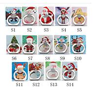 billige Universal mobiltilbehør-Skrivebord Monter stativholder Christmas Santa Claus Phone Holder Justerbar / 360 ° Rotation ABS Holder