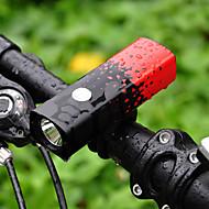 preiswerte Taschenlampen, Laternen & Lichter-Fahrradlicht Radlichter Radsport Wasserfest, Tragbar 18650 800 lm 18650 Weiß Camping / Wandern / Erkundungen / Radsport