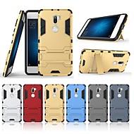 お買い得  携帯電話ケース-ケース 用途 Xiaomi Mi 5s Plus 耐衝撃 / スタンド付き バックカバー ソリッド ハード PC のために Xiaomi Mi 5s Plus