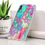abordables 10% de DESCUENTO y Más-Funda Para Apple iPhone XR Antipolvo / Ultrafina / Diseños Funda Trasera Impresión de encaje Suave TPU para iPhone XR