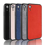 billige -Etui Til Apple iPhone XR / iPhone XS Max Syrematteret Bagcover Ensfarvet Hårdt TPU for iPhone XS / iPhone XR / iPhone XS Max