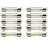 abordables Luces de Exterior para Coche-10pcs 41mm Coche Bombillas 1 W COB 85 lm 1 LED Luces interiores / las luces exteriores Para Universal Universal / KX5 Universal