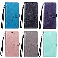 Недорогие Чехлы и кейсы для Galaxy Note 8-Кейс для Назначение SSamsung Galaxy Note 8 Кошелек / Бумажник для карт / со стендом Чехол Мандала Твердый Кожа PU для Note 8