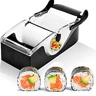 お買い得  キッチン用品 & 小物-マジックライスロール簡単寿司メーカーカッターローラーdiyキッチン完璧なマジックおにぎり寿司ツールローラー