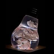 billige -E.P.LIGHT 1pc 3 W 160/ E26 / E27 LED-globepærer A60(A19) 1 LED Perler Højeffekts-LED Kreativ / Fest / Dekorativ Varm hvid 90-240 V