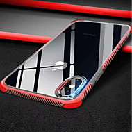 Недорогие Кейсы для iPhone 8 Plus-Кейс для Назначение Apple iPhone XR / iPhone XS Max Прозрачный Кейс на заднюю панель Однотонный Мягкий ТПУ для iPhone XS / iPhone XR / iPhone XS Max