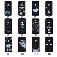 preiswerte Handyhüllen-Hülle Für Xiaomi Mi 8 / Mi 8 SE Mattiert / Muster Rückseite Wort / Satz / Landschaft / Tier Weich TPU für Redmi Note 5A / Xiaomi Redmi Note 5 Pro / Xiaomi Redmi Note 6