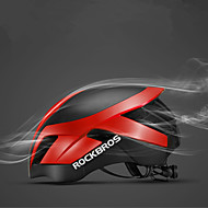ราคาถูก -ROCKBROS ผู้ใหญ่ หมวกกันน็อคจักรยาน 26 Vents ESP+PC กีฬา ปั่นจักรยาน / จักรยาน - สีดำ / สีน้ำเงิน / สีดำ+สีเงิน / สีน้ำเงินกรมท่า สำหรับผู้ชาย