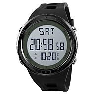 SKMEI สำหรับผู้ชาย นาฬิกาแนวสปอร์ต นาฬิกาทหาร นาฬิกาดิจิตอล ดิจิตอล PU Leather ดำ / เทา / Clover 50 m นาฬิกาปลุก ปฏิทิน โครโนกราฟ ดิจิตอล ไม่เป็นทางการ แฟชั่น - สีดำ สีเทา สีเขียว / หนึ่งปี