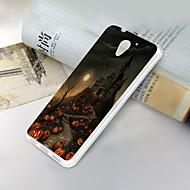お買い得  携帯電話ケース-ケース 用途 ZTE ZTE Blade A510 超薄型 / パターン バックカバー スカル ソフト TPU のために ZTE Blade A510