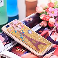 preiswerte Handyhüllen-Hülle Für Xiaomi Mi 5X Stoßresistent / Glänzender Schein Rückseite Eiffelturm / Glänzender Schein Weich TPU für Xiaomi Mi 5X