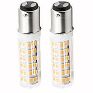お買い得  LED コーン型電球-2pcs 4.5 W 450 lm BA15D LEDコーン型電球 T 76 LEDビーズ SMD 2835 調光可能 温白色 / クールホワイト 220 V