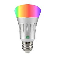 preiswerte Smarte LED-Birnen-YWXLIGHT® 1pc 7 W 600 lm Smart LED Glühlampen A60(A19) 22 LED-Perlen SMD 2835 RGB / Weiß 85-265 V / 1 Stück