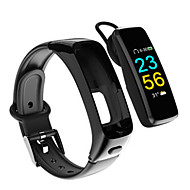 cheap -Kimlink J16 Smart Bracelet Smartwatch Android iOS Heart Rate Monitor Blood Pressure Measurement Calories Burned Hands-Free Calls Distance Tracking Pedometer Call Reminder Sleep Tracker Sedentary
