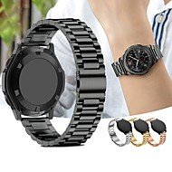 Watch Band için Gear S2 / Gear S2 Classic Samsung Galaxy Spor Bantları Paslanmaz Çelik Bilek Askısı