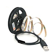 abordables Tiras de Luces LED-ZDM® 1m Tiras LED Flexibles 60 LED 2835 SMD Blanco Cálido / Blanco Fresco USB / Conectable / Adecuadas para Vehículos 5 V / Alimentado por USB 1pc