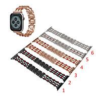 billige -Urrem for Apple Watch Series 4/3/2/1 Apple Sportsrem / Smykkedesign Rustfrit stål Håndledsrem