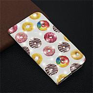 Недорогие Кейсы для iPhone 8 Plus-Кейс для Назначение Apple iPhone XR / iPhone XS Max Кошелек / Бумажник для карт / со стендом Чехол Продукты питания Твердый Кожа PU для iPhone XS / iPhone XR / iPhone XS Max