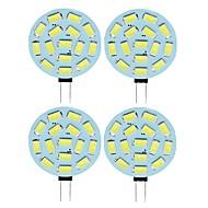 SENCART 4pcs 2 W 210 lm G4 LED Bi-pin Lights T 15 LED Beads SMD 5730 Warm White Cold White 12 V