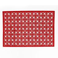 abordables Textiles para el Hogar-Moderno 75g / m2 De Poliéster Tejidto Elástico Cuadrado Juego de Mesa Resistente al Calor Decoraciones de mesa