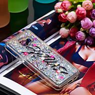 Недорогие Чехлы и кейсы для Galaxy A3(2016)-Кейс для Назначение SSamsung Galaxy A3(2016) Защита от удара / Сияние и блеск Кейс на заднюю панель Сияние и блеск Мягкий ТПУ для A3(2016)
