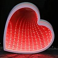 tanie -1 szt. Noc LED Light Czerwony Zasilanie bateriami AA Kreatywne / Ślub / Dekoracja <5 V