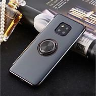preiswerte Handyhüllen-Hülle Für Huawei P20 Pro / P20 lite Ring - Haltevorrichtung / Ultra dünn / Transparent Rückseite Solide Weich TPU für Huawei P20 / Huawei P20 Pro / Huawei P20 lite