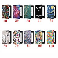 Case For Amazon Kindle PaperWhite 4 Shockproof / with Stand / Pattern Full Body Cases Butterfly / Scenery / Eiffel Tower Hard PU Leather for Kindle PaperWhite 4