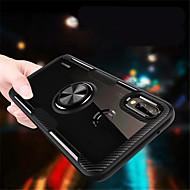 お買い得  携帯電話ケース-ケース 用途 Huawei P20 Pro / P20 lite バンカーリング バックカバー ソリッド ハード PC のために Huawei P20 / Huawei P20 Pro / Huawei P20 lite