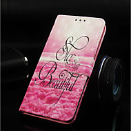 abordables Fundas / Carcasas para Galaxy Note-Funda Para Samsung Galaxy Note 9 / Nota 8 Cartera / Soporte de Coche / con Soporte Funda de Cuerpo Entero Paisaje Dura Cuero de PU para Note 9 / Note 8