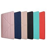 abordables Accesorios de iPad-Funda Para Apple iPad (2018) / iPad Pro 11'' Antigolpes / con Soporte / Flip Funda de Cuerpo Entero Un Color Suave Silicona para iPad Air / iPad 4/3/2 / iPad Mini 3/2/1