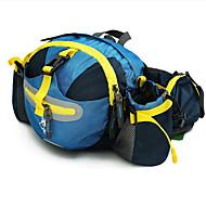 お買い得  -Jungle King 12 L ストラップ付きポーチ - 通気性 アウトドア ハイキング ナイロン レッド, グリーン, ブルー