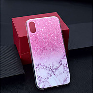 abordables Fundas para iPhone 8 Plus-Funda Para Apple iPhone XR / iPhone XS Max Transparente / Diseños Funda Trasera Mármol Suave TPU para iPhone XS / iPhone XR / iPhone XS Max